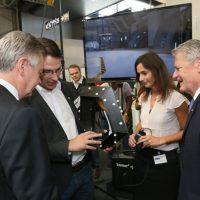 Virtuelle Realität EMO Hannover 2013 Mschinenbau immersight Raumbrille