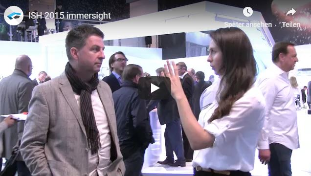 Video immersight Stand ISH 2018