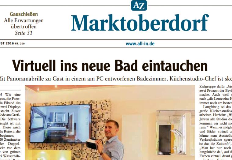 Virtuell ins neue Bad, Urlbauer,