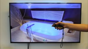 Virtuelle Räume mit dem Controller erleben