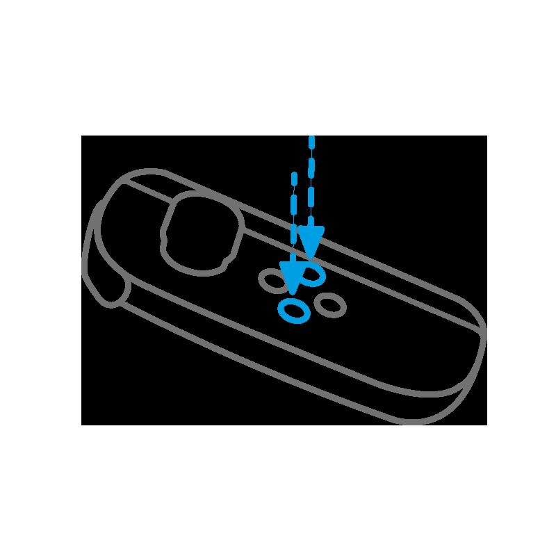 Zeigt die Möglichkeiten durch Slides zu schalten oder Kojen zu verlassen