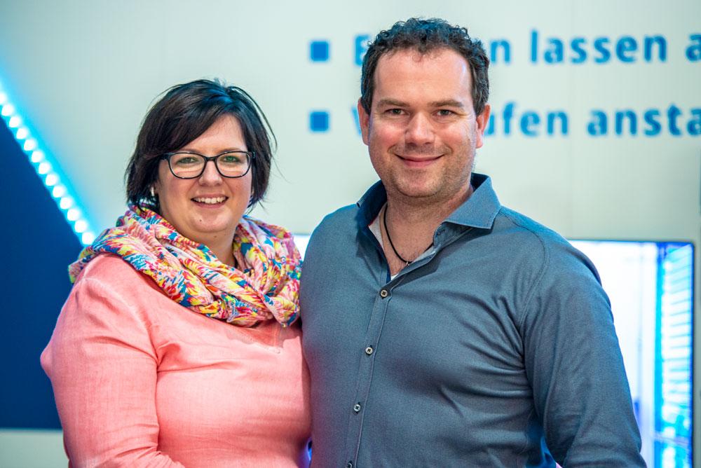 Herr und Frau Meerwart von Meerwart Sanitär, Solar, Heizung