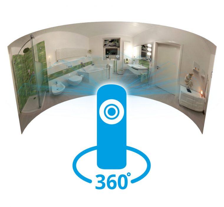360° Kamera Panoramaaufnahme Virtuelle Ausstellung
