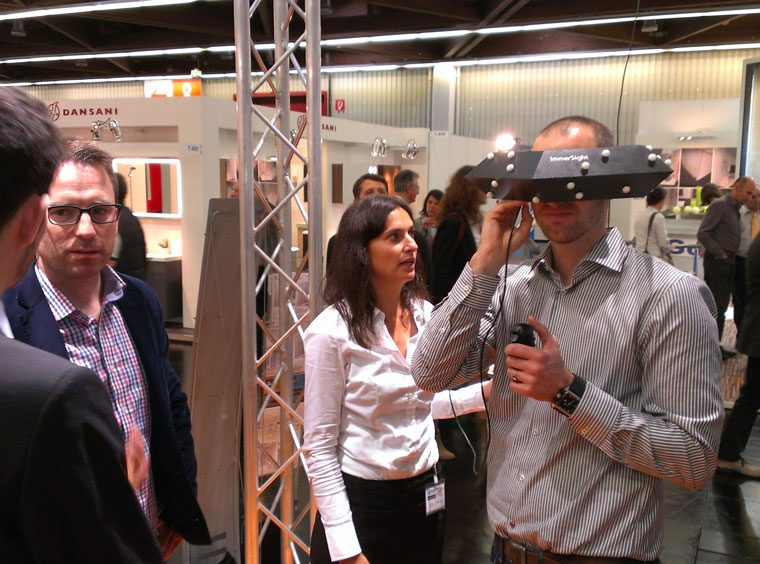 IFH Intherm Nuernberg 2014 immersight Raumbrille