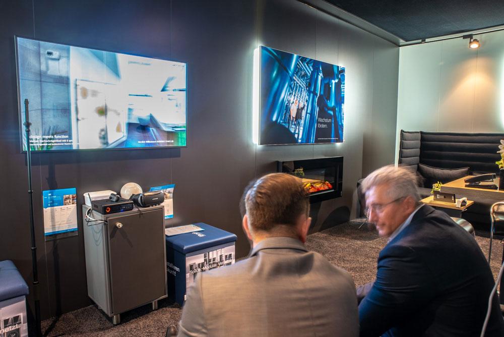 Virtuelle Ausstellung von immersight im Buderus Starclub