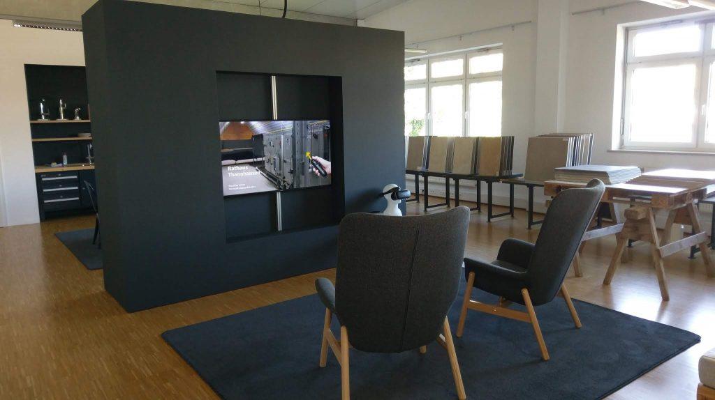 Beratungslounge von Braun Bad und Heizung GmbH
