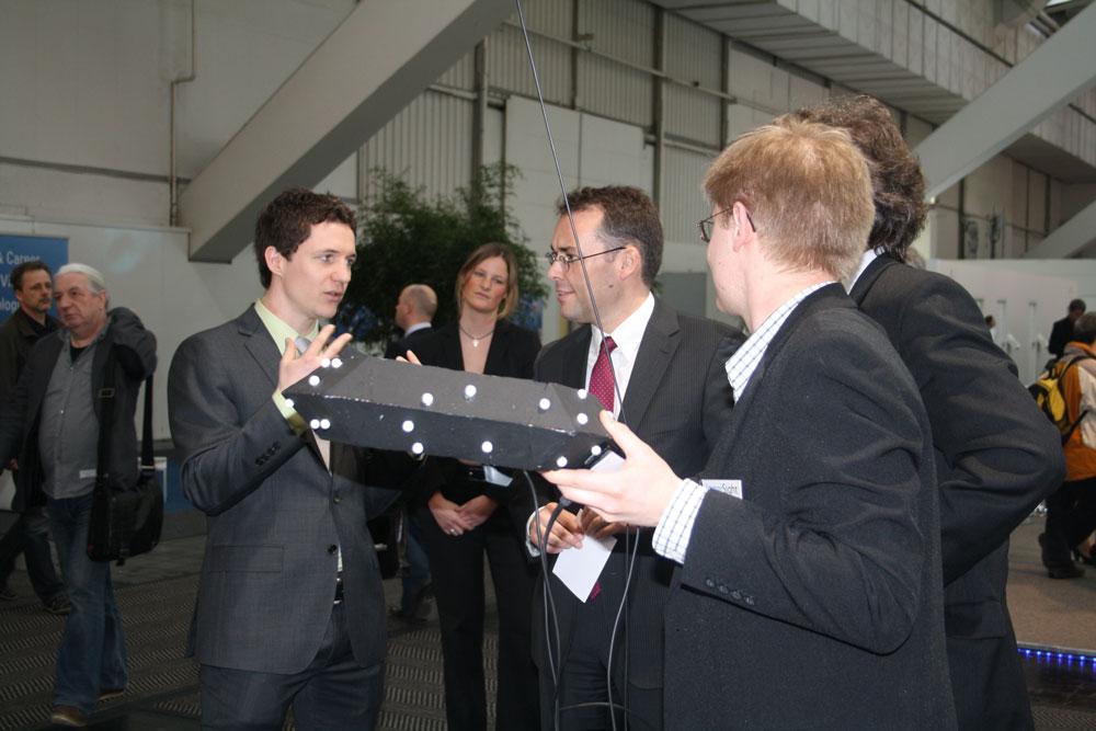 Peter Friedrich, Raumbrille immersight CeBIT 2012