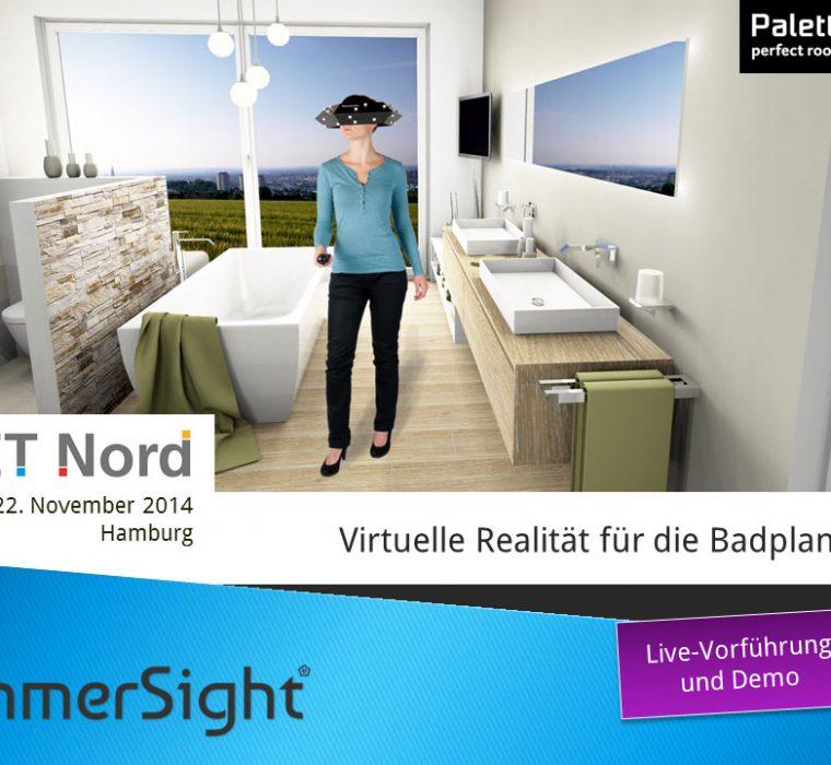 Get Nord immersight Raumbrille Einladung 2014