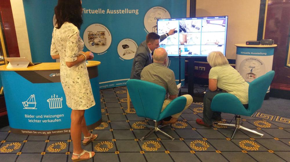 Präsentation der Virtuellen Bad und Heizungsausstellung