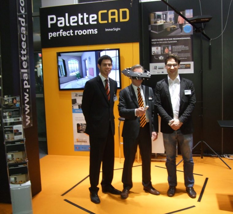 PaletteCAD immersight Badplanung Raumbrille ISH 2013