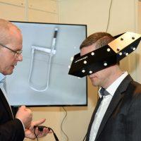 Raumbrille immersight ISH 2015