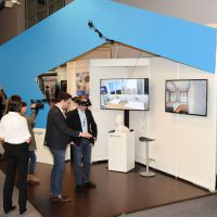 Raumbrille Stand immersight ISH 2015