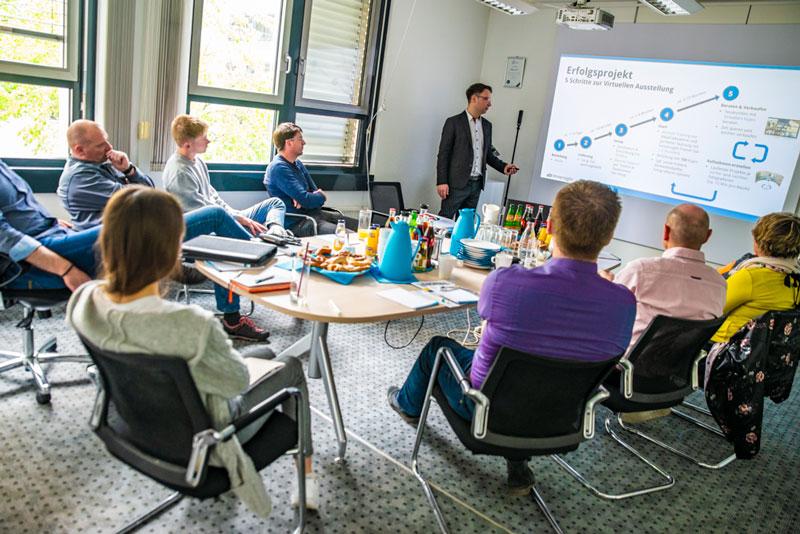 """Workshop """"Digitalisierung SHK-Handwerk"""", Fabian K.O. Weiss, immersight Ulm"""