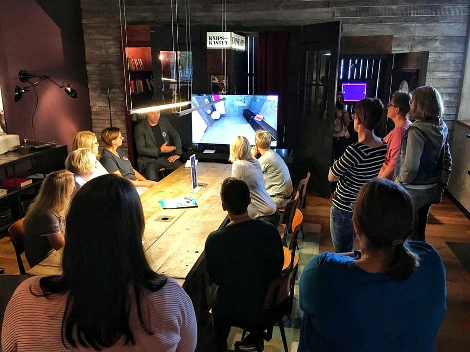 In Hamburg wurden die Mitglieder des Buderus Star Clubs mit der Virtuellen Heizungsausstellung begeistert