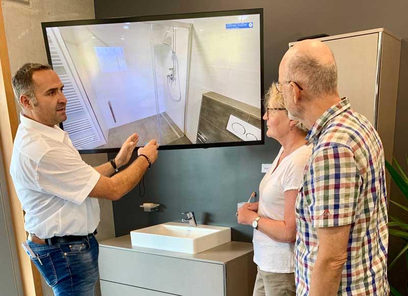 Der 3D-Showroom zur Kundenberatung