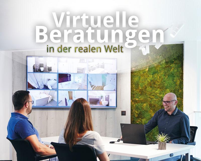 Virtuelle Beratung mit Interessenten