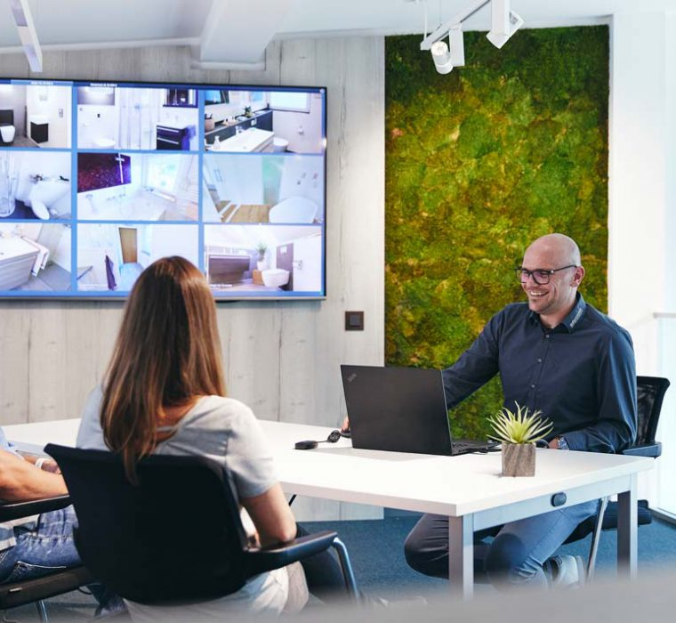 Virtuelle Beratung mit Rico Hausmann von Hausmann Versorgungstechnik