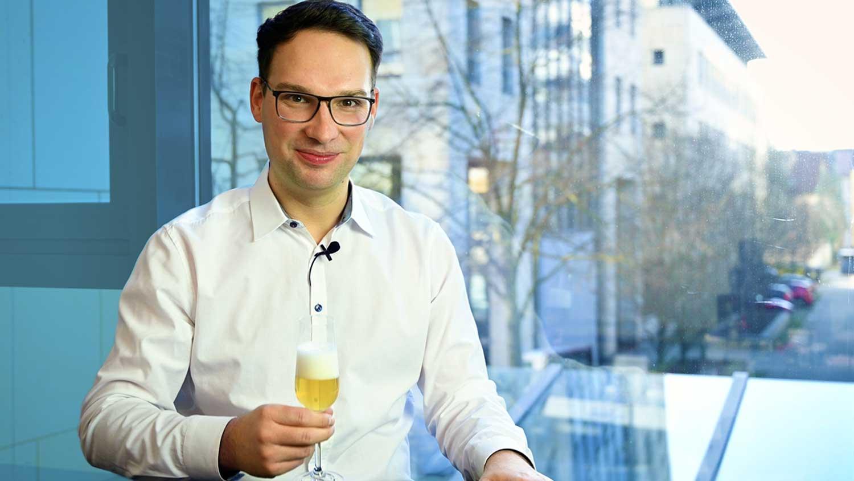 Fabian Weiss grüßt zum neuen Jahr 2021