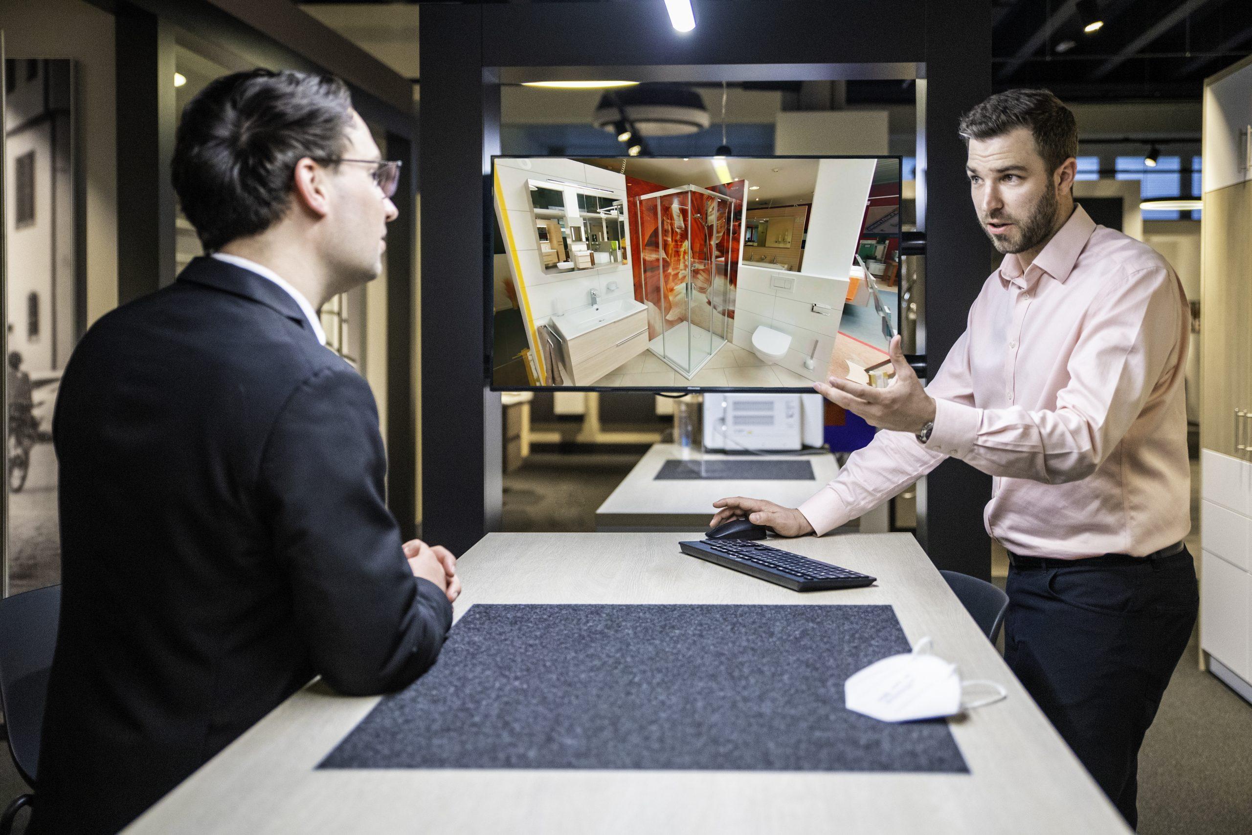 Eisen Fischer Ausstellung mit immersight